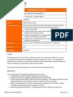 BIZ101 Assessment 2B Brief