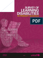 Learning Diasbilities Report Interactive