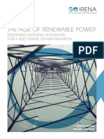 IRENA PST Age of Renewable Transformation for DCs Power 2015