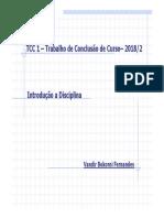 TCC 01 - Introdução - Regras Gerais 01 Bim