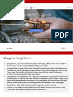 Google Form Tutorial 2018 Indonesia