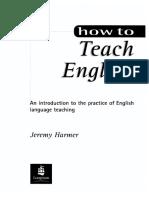 hiw to teah english jeremy harmer.pdf