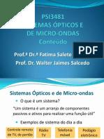 Micoondas e Optica
