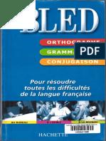 1001Ebooks.com BLED Orthographe Grammaire Conjugaison