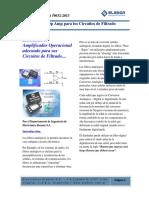 Seleccion Del Amplificador Operacional Para Circuitos de Filtrado