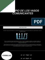 Principio de Los Vasos Comunicantes