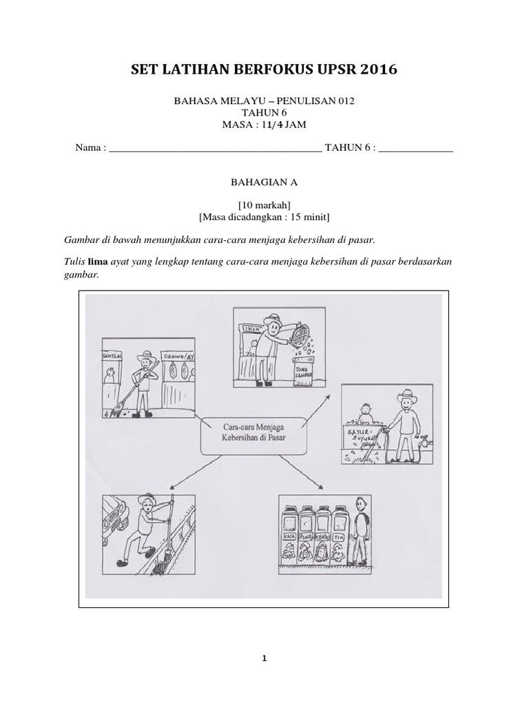 1 Bahasa Melayu Penulisan Cemerlang Docx