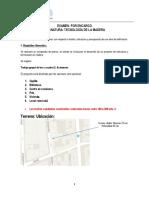 Examen TMA7201 Profesor Eduardo Lira 2017