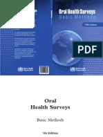 Who Oral Health Survey