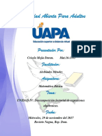 UNIDAD-IV, Descomposición factorial de expresiones algebraicas...docx