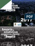 Bogotá Anuario Estadistico 2017