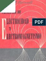 Principios de Electricidad y Electromagnetismo - Gaylord P. Harnwell [Selecciones Científicas]