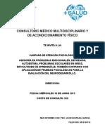 CONSULTORIO MÉDICO MULTIDISCIPLINARIO Y DE ACONDICIONAMIENTO FÍSICO.doc