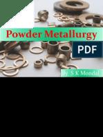 Ch-18 Powder Metallurgy