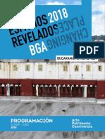 PROGRAMACIÓN ESPACIOS REVELADOS BUCARAMANGA 2018
