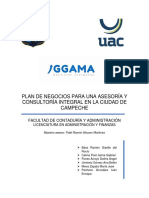 Plan de Negocios Consultoría Integral