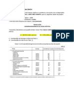 Dimensionamento de Tanque Séptico e Sumidouro