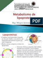 Metabolismo-lipoproteinas