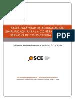 bases estándar de adjudicación simple