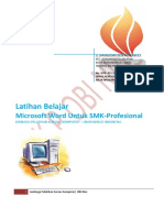 Latihan Word SMK-Profesional
