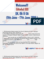 GAinful 100 11th June - 17th June 2018 - PDF