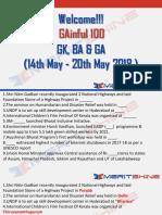 GAinful 100 14th May - 20th May 2018 - PDF