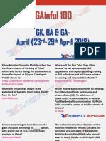 GAinful 100 23-29th April 2018 - PDF