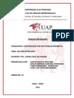 Trabajo Sectores Economicos - Petrolera Ok