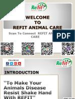 Animal HealtCare Products-REFIT ANIMAL CARE