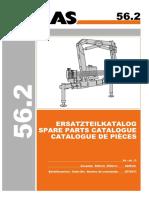 ATLAS 56.2 (6076671) Parts Manual