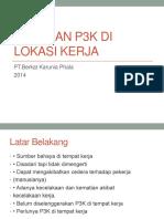 Buku Panduan P3K DI Lokasi Kerja
