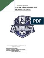 Laporan Kegiatan Ramadhan Cup