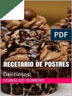 Recetario de Postres_ Delicioso - Oswaldo Romero