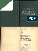 I L POPESCU G G VRANCEANU C TUDOR Probleme de Matematici Superioare