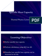Thermal Physics 1 - Specific Heat Capacity