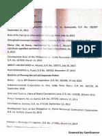 Corporation Cases List in Bulletin Board