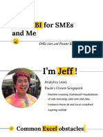Power BI for SMEs and Me