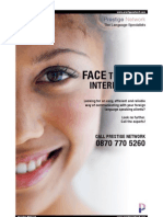 Face to Face Interpreting
