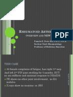 Rheumatoid Arthritis - Overview and New Information