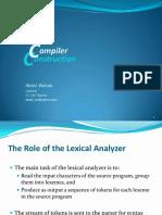 2 Lexical Analysis