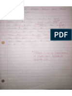 qualitative student sample 1 pre