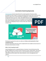 The Ultimate Guide to Cloud Computing Security- Hire Cloud Expert