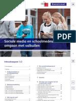 Sociale Media en Schoolmedewerkers