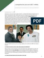 Kadafi e Lula segundo Palocci