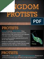 Kingdom Protists