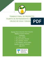 Proyecto Mayra Polich - Aceite de Soja