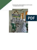 2. Dokumentasi Sosialisasi Dan Peltihan Peningkatan Mutu Klinis Dan Keselamatan Pasien