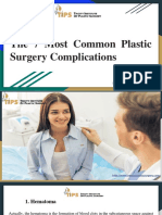 The 7 Most Common Plastic Surgery Complications