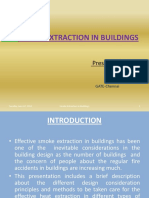Smoke Extraction in Buildings