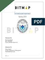 Internship Report on Studio Bitmap (event management firm)
